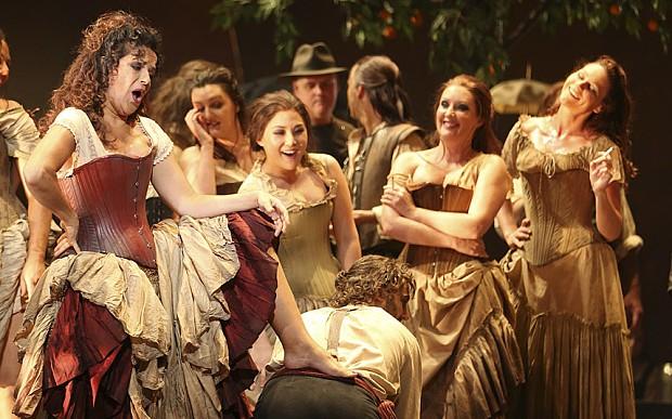 Carmen opera banned
