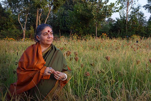 Ambasciatrice della fame nel mondo, vandana-shiva