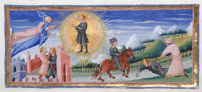 Dante e Cacciaguida, Giovanni di Paolo