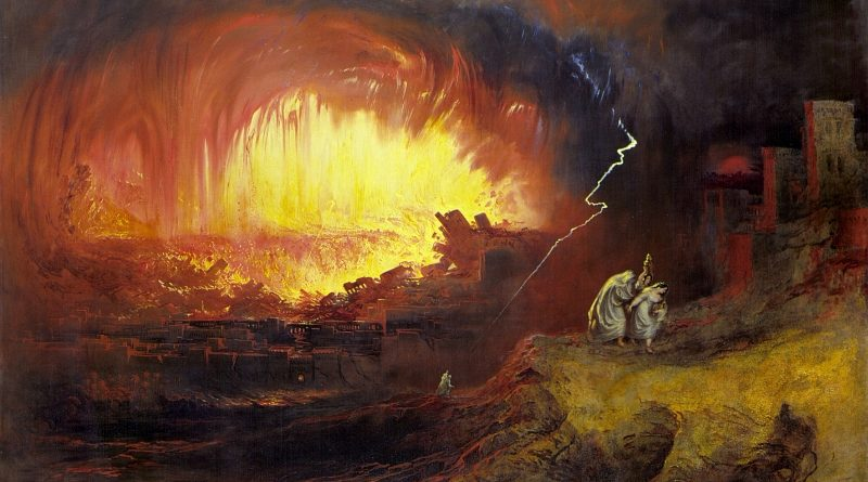 John Martin - Sodoma e Gomorra